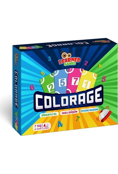 Learned Games Colorage