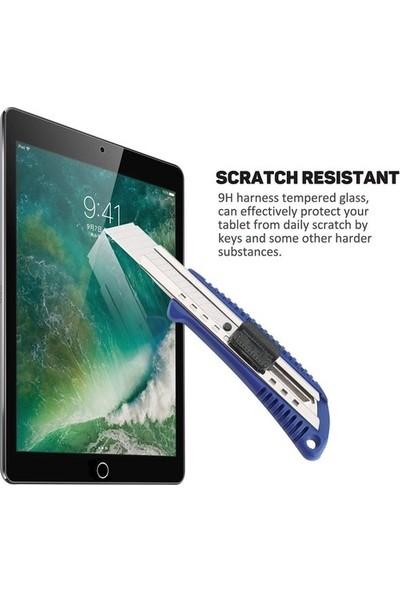 """Fibaks Apple iPad 8. Nesil (2020) 10.2"""" Ekran Koruyucu Nano Esnek Flexible 9h Micro Temperli Kırılmaz Cam"""