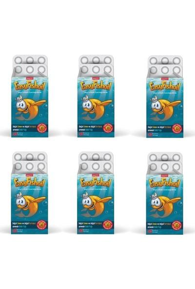 Easyvit Çocuklara Özel Çiğnenebilir Aromalı Jel Formda Balık Yağı x 6