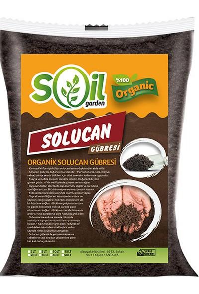 Soil Garden Solucan Gübresi 5 lt (2.5 Kg)Toprak Düzenleyici Solucan Gübresi