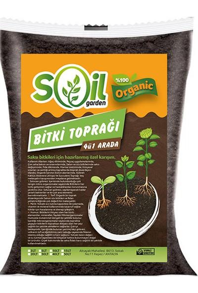 Soil Garden Bitki Toprağı 4'ü Bir Arada 50 lt