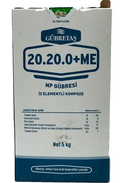 Gübretaş 20.20.0 + Me 5 kg Ürün Hologramlı Paket