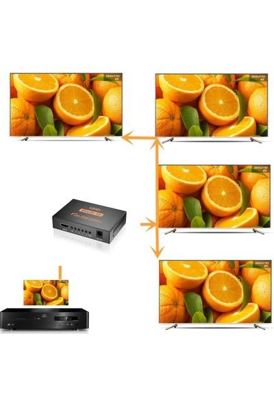 Triline 4K Ultra Hd 3D 4 Port HDMI Splitter Çoğaltıcı