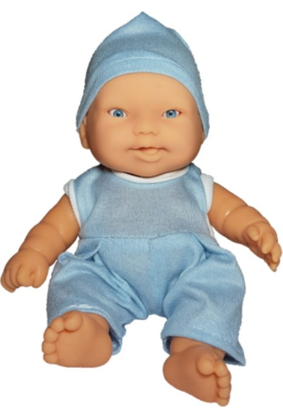 Gamze Oyuncak Et Bebek 20 cm Mavi