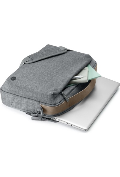 Hp Renew 15.6 Ince Üstten Beslemeli Notebook Çantası - Gri 1A213AA