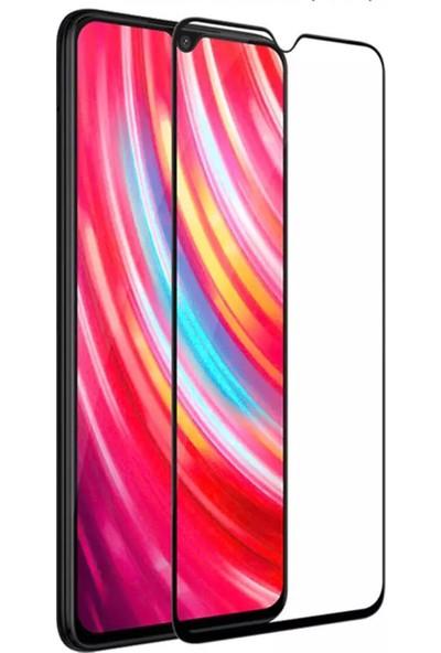 CepStok Xiaomi Redmi Note 8 Kırılmaz Cam 5d Tam Kaplayan Temperli Ekran Koruyucu