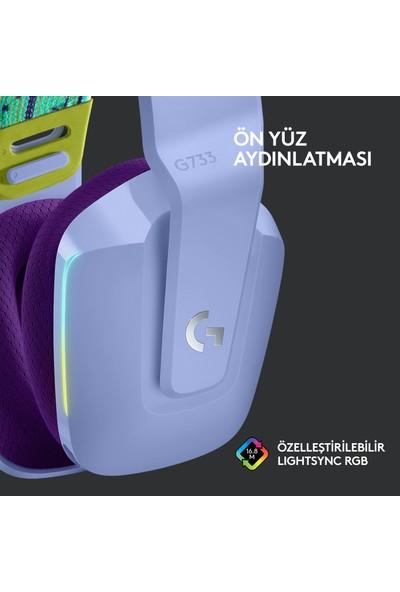 Logitech G G733 Kablosuz 7.1 Surround Ses Oyuncu Kulaklığı - Lila
