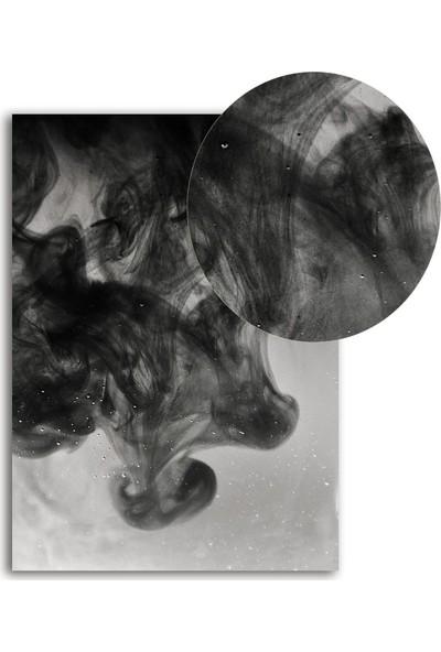 Polnight Dark Cloud Minimalist Duvar Dekorasyon Dijital Baskı Tablo Çerçevesiz Poster