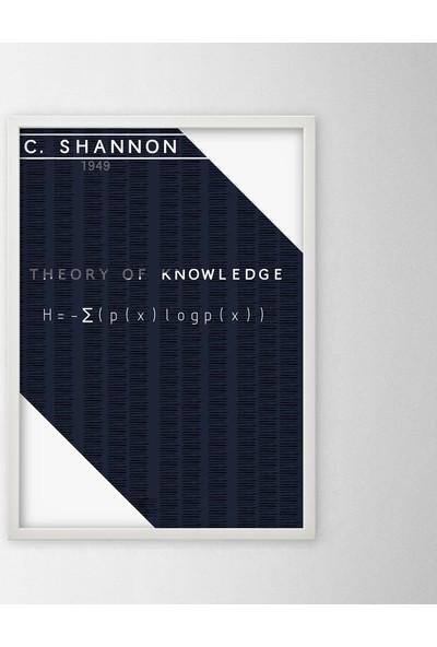Polnight Masters Of Mathematics Poster Setleri Duvar Dekorasyon Dijital Baskı Tablo Mdf Beyaz Çerçeve Poster
