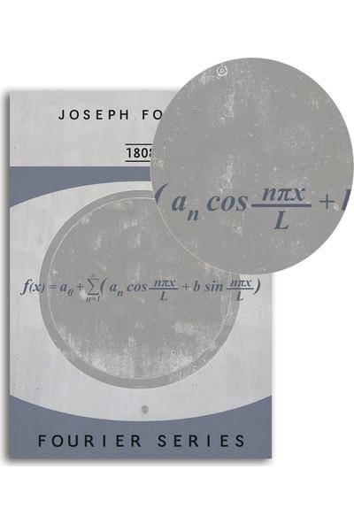 Polnight Joseph Fourier Sayısal Duvar Dekorasyon Dijital Baskı Tablo Mdf Beyaz Çerçeve Poster