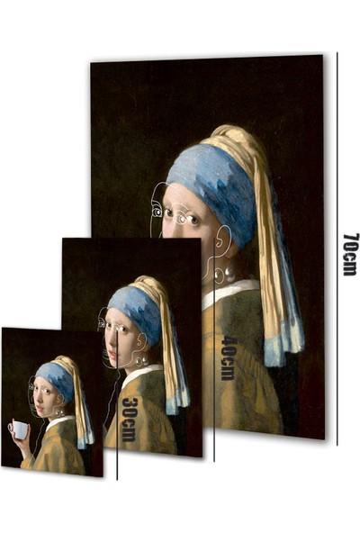 Polnight Pearl Coffee Sanat Duvar Dekorasyon Dijital Baskı Tablo Çerçevesiz Poster