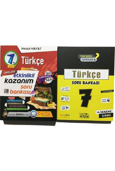 Çanta Yayınları Türkçe Soru Bankası 7. Sınıf