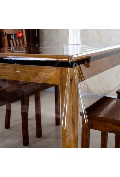 Yeşil Home Şeffaf Pvc Masa Örtüsü 0,18 mm