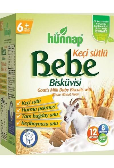 hünnap Keçi Sütlü Bebe Bisküvisi 400 gr