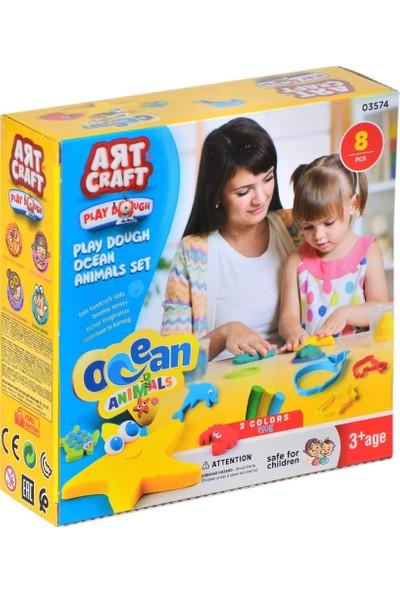 Fen Toys 03574 Okyanus Hay.seti Oyun Hamuru