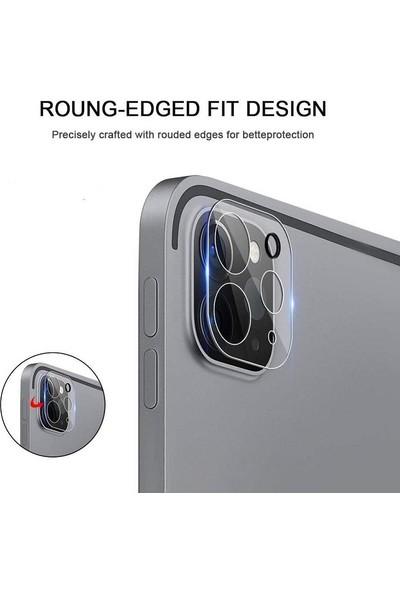 "Engo Apple iPad Pro 11"" 2. Nesil Kamera Lens Koruyucu Temperli Cam Şeffaf"