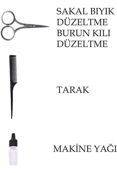Mkey 2320 Nikula 3 Başlıklı Profesyonel Tıraş Makinesi