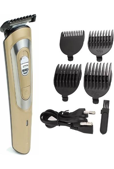 Mkey 2060 Nikula Profesyonel Kablosuz Saç Sakal Tıraş Makinesi Seti