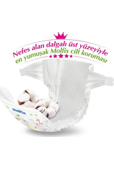 Molfix Pure & Soft Bebek Bezi 5 Beden Junior Ultra Fırsat Paketi 132'LI + Evony 10'lu Maske