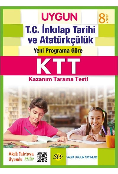 Sadık Uygun Yayınları 8. Sınıf Dört Ders Kazanım Tarama Testi Seti