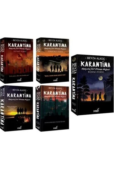 Karantina Serisi 5 Kitap Set Beyza Alkoç (Karantina 1-2-3-4-5)