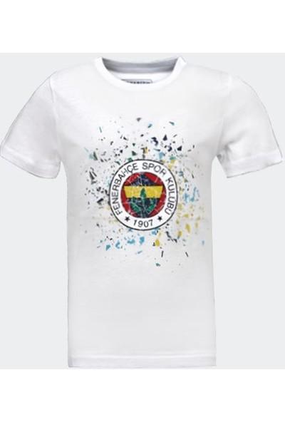 Fenerium Çocuk Tribünrenkli Logo Tshirt