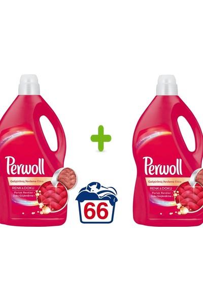 Perwoll Perwoltlt Yeniltenen Renklter Hassas Çamaşır Deterjanı 4 lt 66 Yıkama 2'li