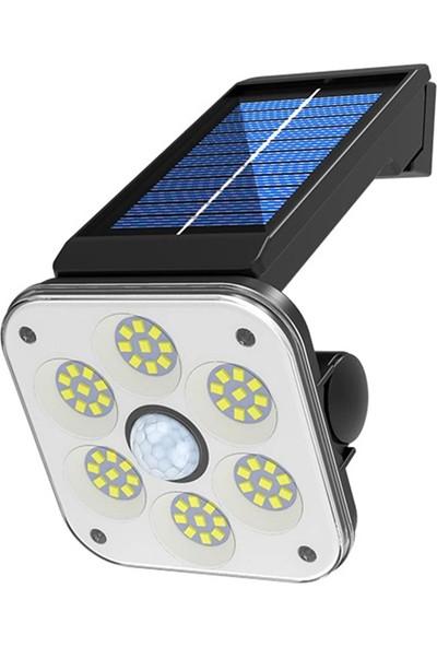 Mbw LED Solar Lamba İnsan Endüksiyonu Dönebilen Sokak Lambası 54 LED'li Smd (Yurt Dışından)