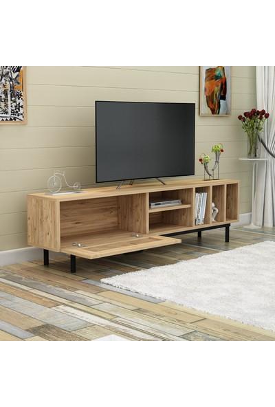 Hepsi Home Dolares Tv Ünitesi - Atlantik Çam