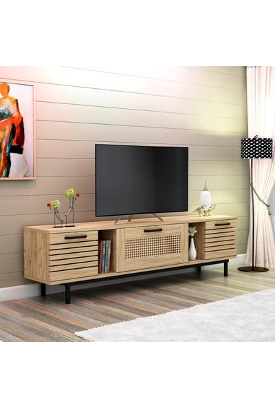 Hepsi Home Pinto TV Ünitesi -Atlantik Çam