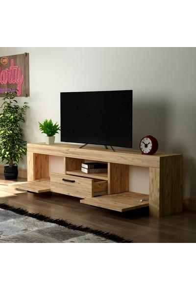 Hepsi Home Malez Tv Ünitesi - Atlantik Çam
