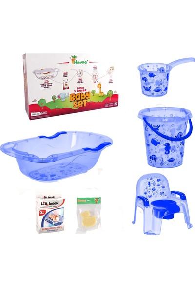 Havuç Bebek Banyo Küvet Seti 6'lı