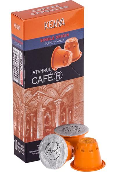 İstanbul Cafer Nespresso Uyumlu 10 Adet Kenya Kapsül