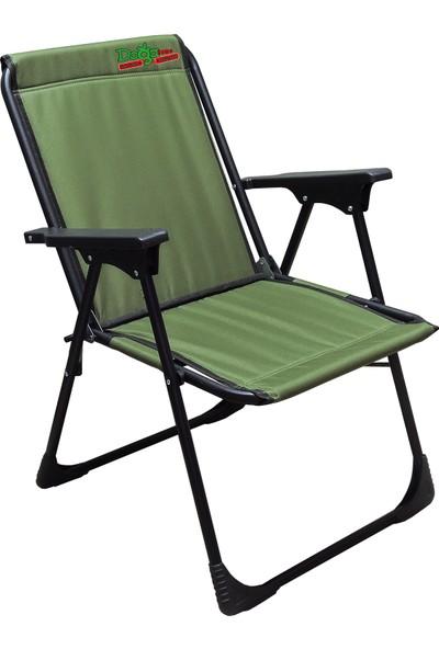 Leva Dogahomes Lüks Katlanır Kamp,plaj,piknik Sandalyesi -Yeşil