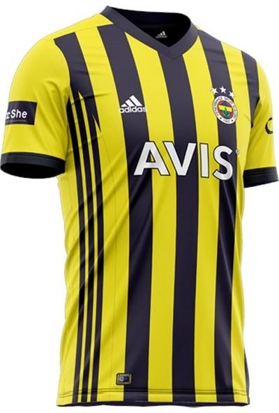 Fenerbahçe Lisanslı Çubuklu Çocuk Forma 2020 Yeni Sezon Hediyelik Ahşap Kutulu