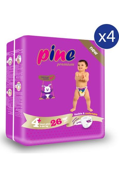 Pine Maxi Plus (9-20 kg ) Ikiz Paket 104 Adet Bebek Bezi