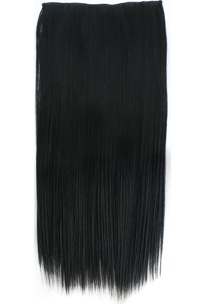 Secret Extensions Yarımay Çıt Çıt Saç 01 120 gr Siyah