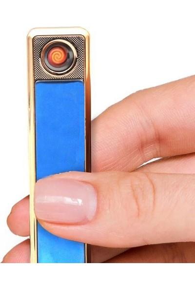 Hediyehanesi İsme Özel USB Şarjlı Elektronik Çakmak 401