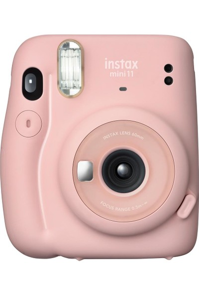 Fujifilm Instax Mini 11 Pembe Fotoğraf Makinesi 10'lu Film ve Pembe Powerbank