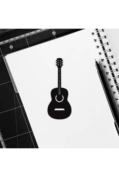 Walldeco Ahşap Gitar Kitap Ayracı Mdf