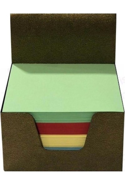 Fiyper Renkli Küp Blok 8 x 8 cm