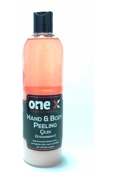 Onex El ve Vücut Deniz Tuzu Peeling Çilek 400 ml
