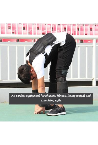 Lixada Koşu Egzersiz Ağırlık Yelek Spor Aracı Boks Eğitim