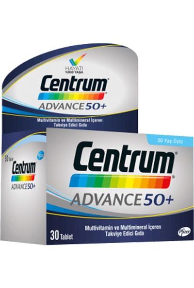 Pfizer Centrum Advance Multivitamin 30 Tablet - 50 Yaş Üstü Için