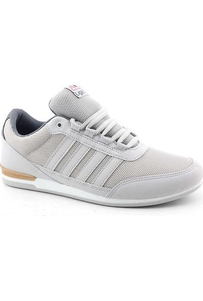 Liger 3018 Erkek Spor Ayakkabı-Buz Beyaz