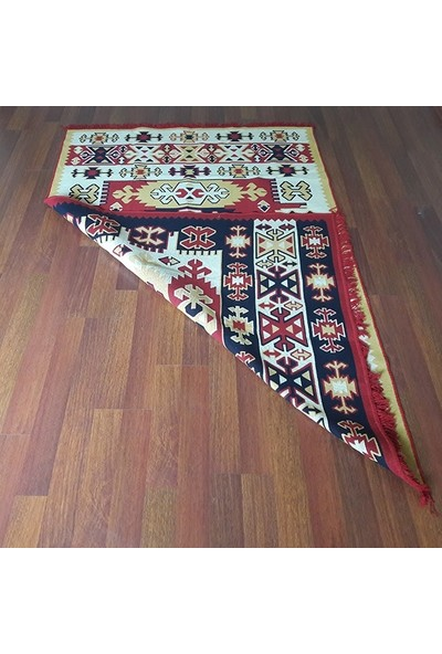 Voho Tekstil Çift Taraflı Kilim - Otantik Kilim Desen Yolluk