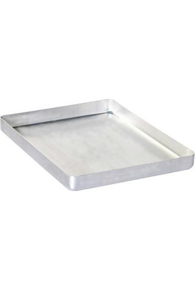 KAYALAR Alüminyum Tepsi, Baklava Börek Tepsisi 30 x 40 x 3 cm 800 gr