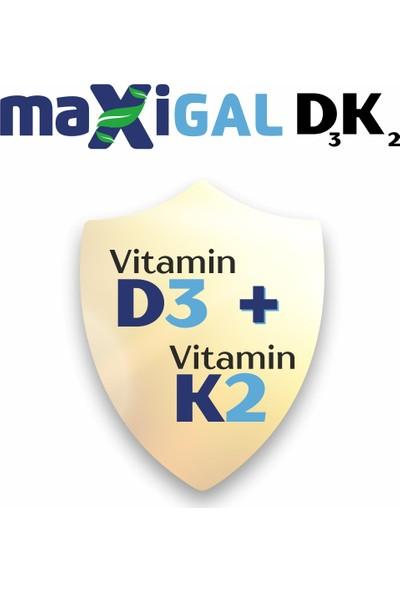 Maxigal Vitamin D, Vitamin K 20 ml Damla Takviye Edici Gıda - 3'lü