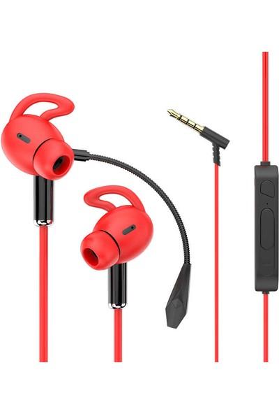Vendas Ak-P9 Serisi 3.5mm Girişli Kulakiçi Mikrofonlu Oyuncu Kulaklığı