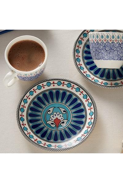Karaca Mai Selçuklu Serisi 2 Kişilik Kahve Fincanı